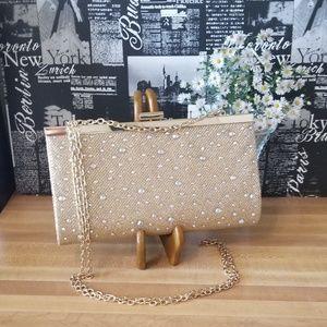 Gold Sparkling Evening Bag
